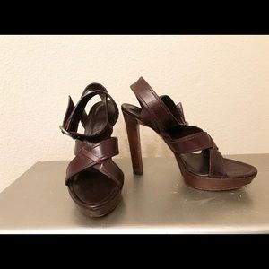 YSL sandals.
